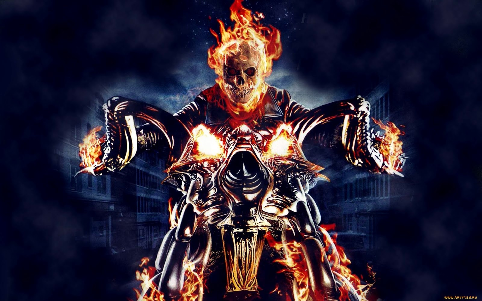 Ghost Rider HD Wallpapers Free Download ~ HD WALLPAPERS