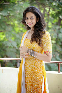 Rakul Preet In Yellow Salwar At Pandaga Chesko Opening Event Hyderabad