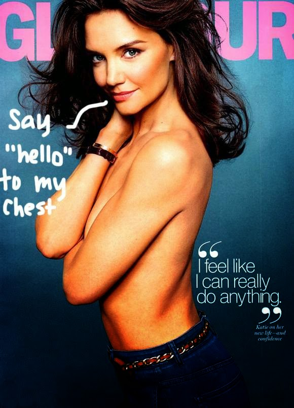 Katie Holmes Glamour Pic