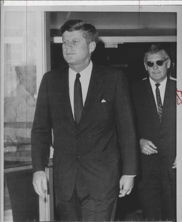 JFK & SAIC JERRY BEHN