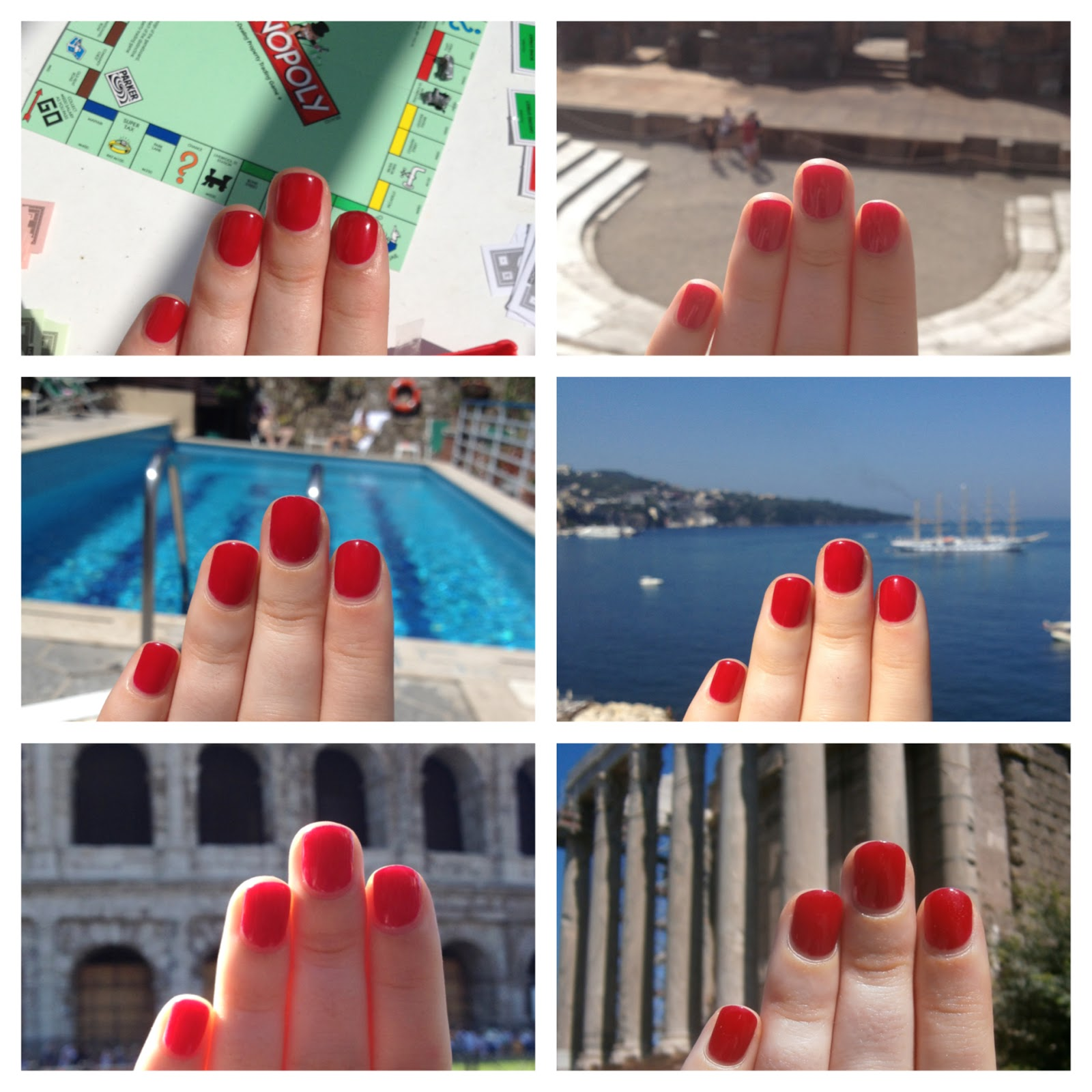 One Nail To Rule Them All: Nails on Tour