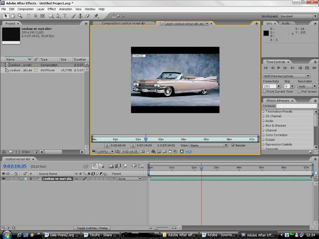 Adobe After Effects Cs3 Free Download Mac