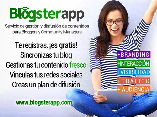 Blogsterapp un difusor social de contenido para tu blog.