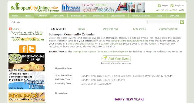 Belmopan City Online