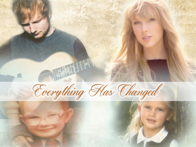 Ed Sheeran and Taylor Swift Little