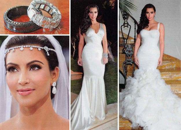 kim kardashian wedding dress 2011