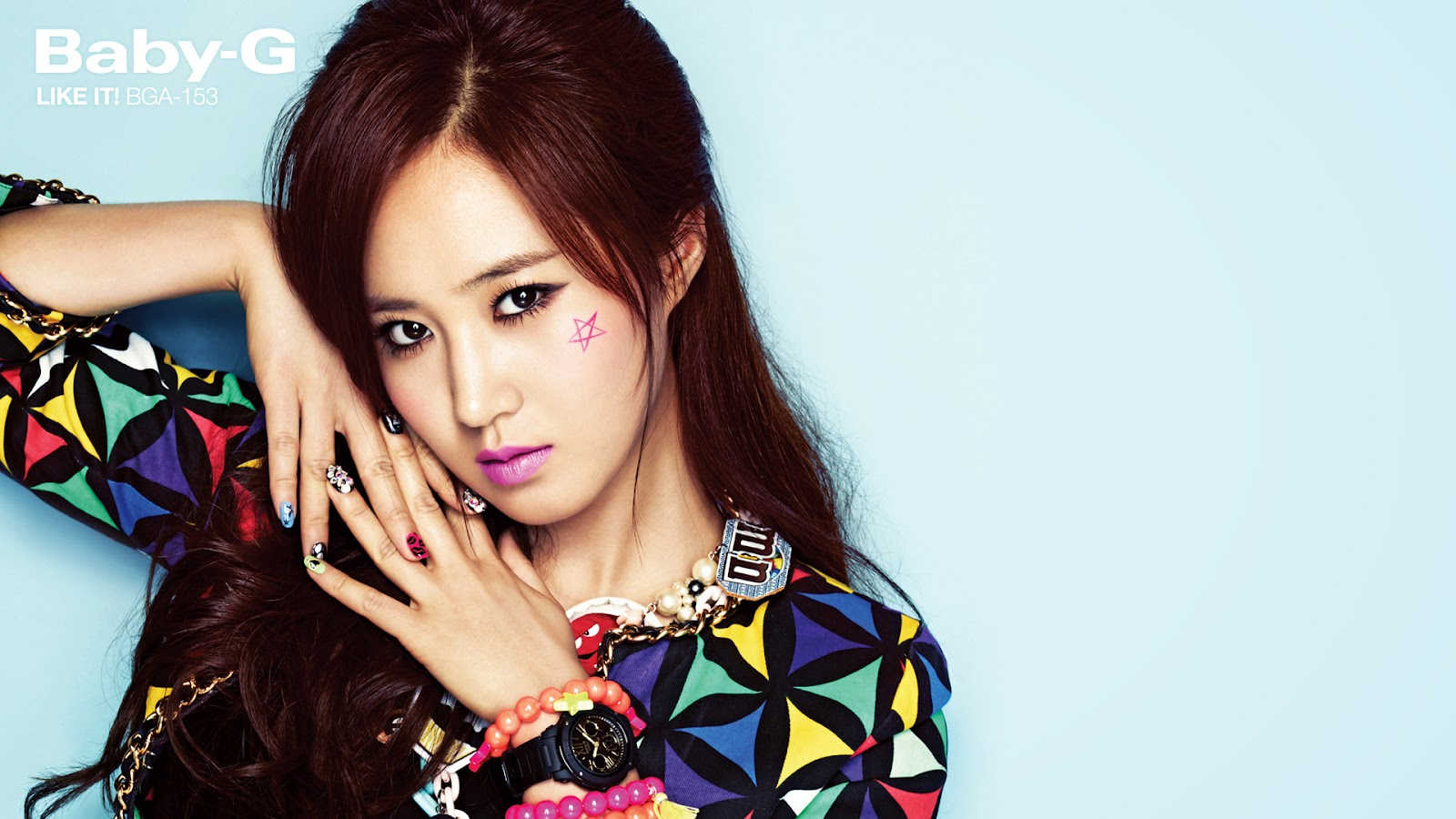 Now Its The Sexy Yuris Turn Casio Baby G Wallpaper And Screensaver 4th Release Next Is On October 1st Enjoy Downloads Below