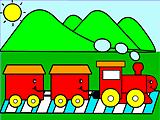 Trenzinho a Vapor