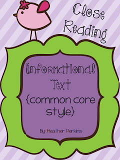 http://www.teacherspayteachers.com/Product/Close-Reading-Informational-Text-Common-Core-Style-1016775