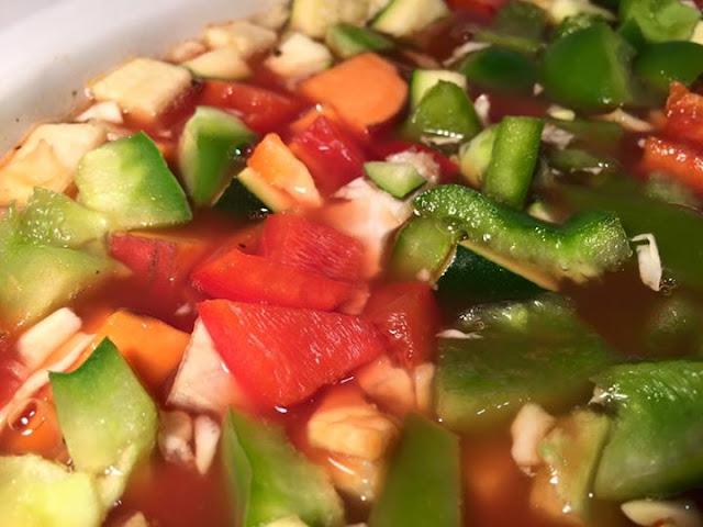 Slow Cooker Lentil Vegetable Soup