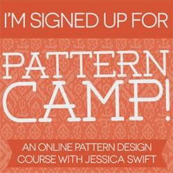 Jessica Swift - Pattern Camp!