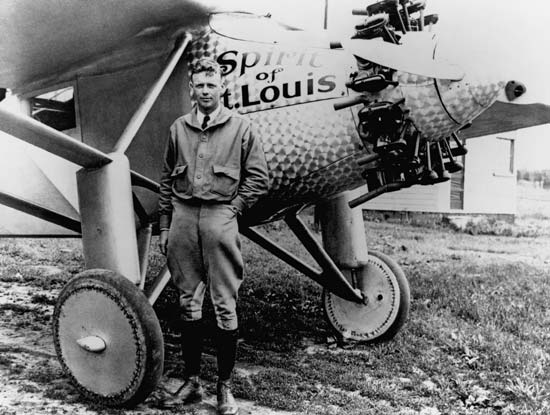 Charles Lindbergh a great