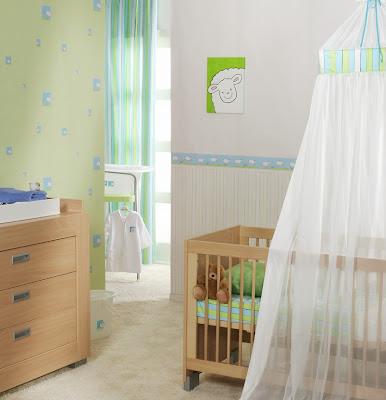 Papel pintado papel pintado infantil four friends - Habitaciones papel pintado ...