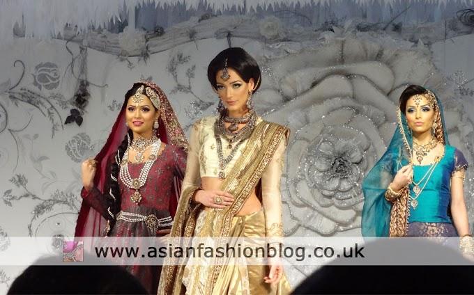 Jawaad and Mona Vora at the 2012 London Asiana Bridal Show