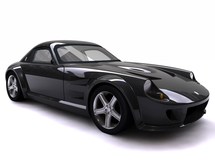 HdCar wallpapers: black sports car