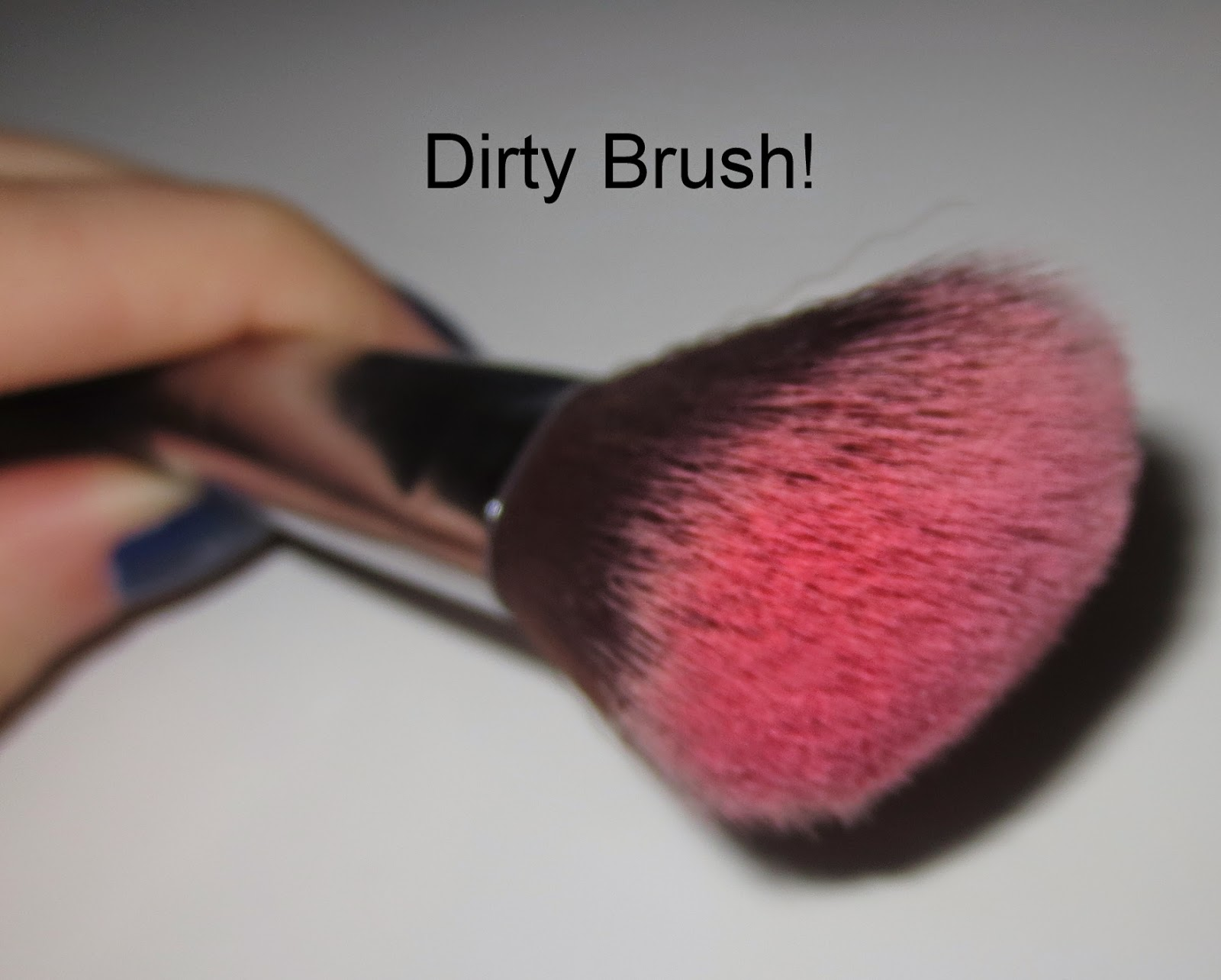 Dirty Makeup Brush