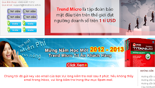 Trend Micro Titanium Antivirus Vietnam Serial Key Sent Notification