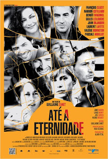 """Cartaz nacional do filme francês """"Até a Eternidade"""""""