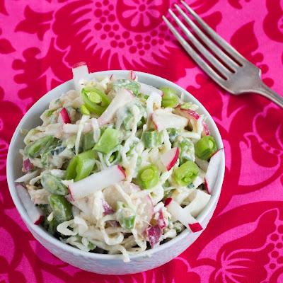Kid Cultivation: Sugar Snap Slaw with Miso Dressing