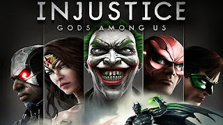Screenshots of the Injustice Gods Among Us for Android tablet, phone.