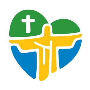 logo oficial da jmj rio 2013 amiguinhos de deus