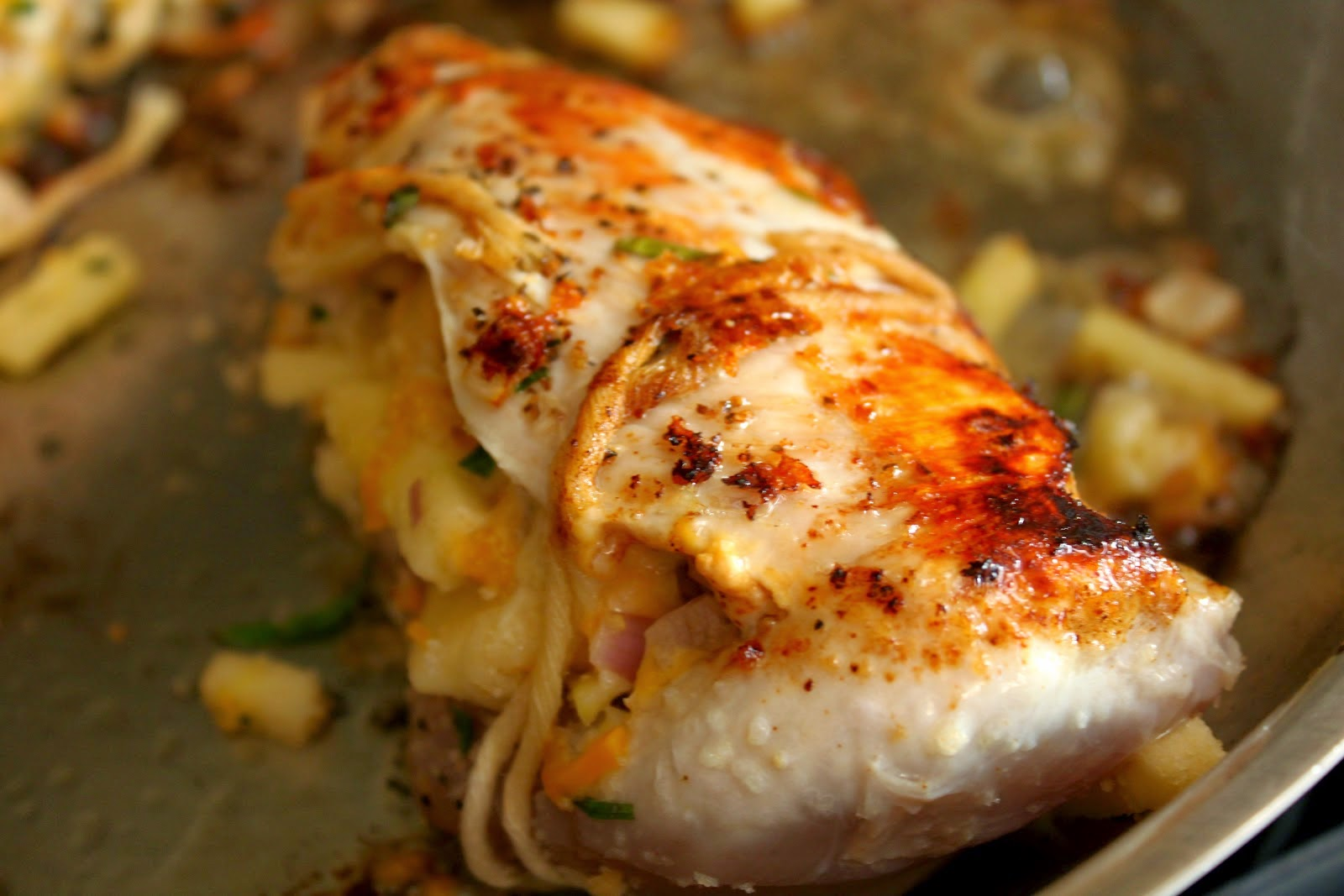 Indian stuffed chicken breast recipes