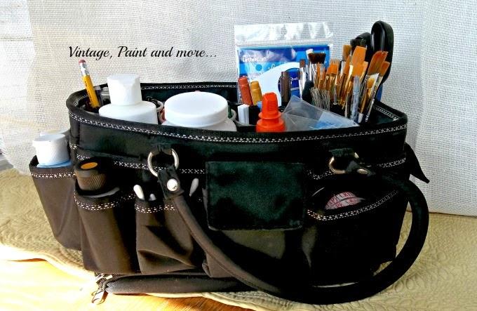 Craft Tool Organization - ways to organize craft tools, craft tool storage, how to organize your craft tools
