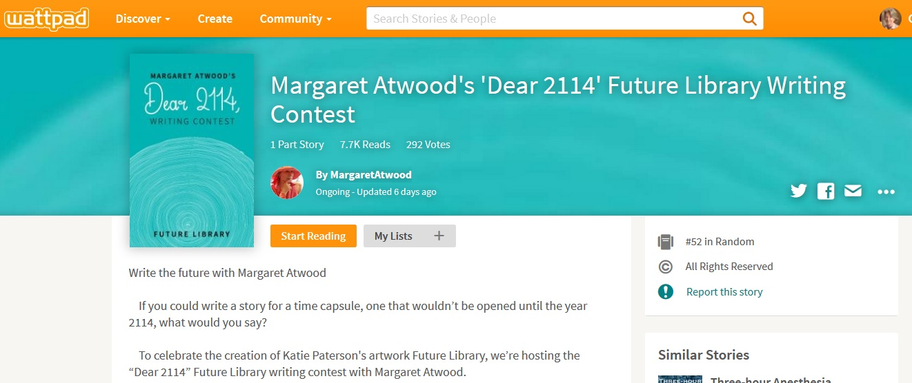 how to join wattpad futures