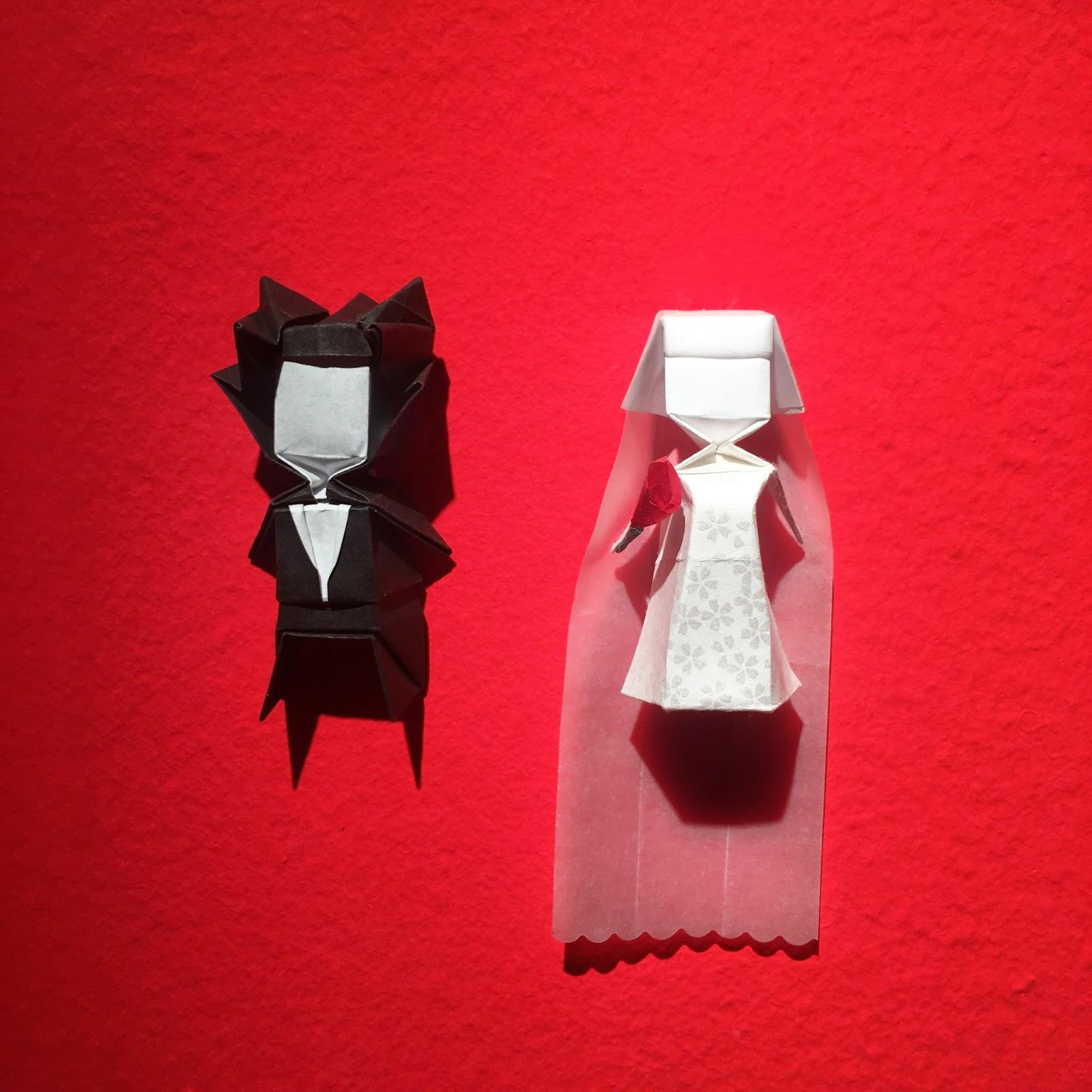 matrimonio de papel origami Ana Sofía Casaverde