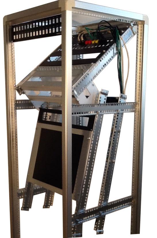 Telai rack da laboratorio open frame