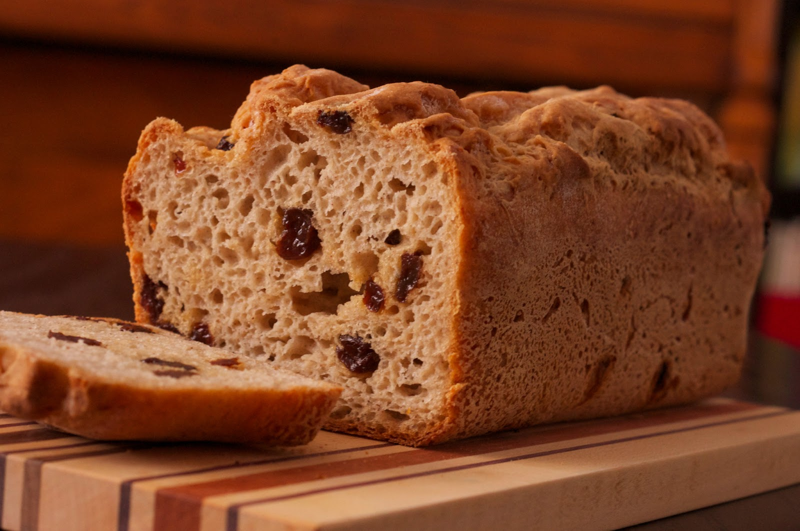 Cinnamon Raisin Bread ~ Hopes Kitchen