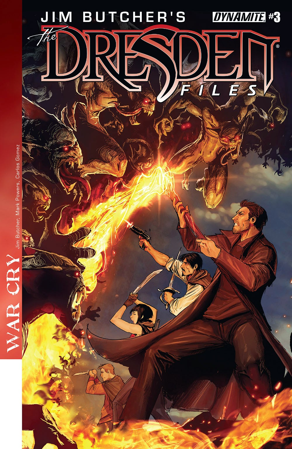 Jim Butcher's The Dresden Files €� War Cry 003 (2014)