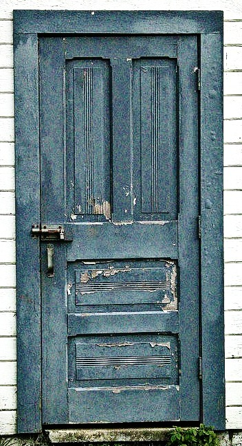 ... Vintage Doors into a Beach Cottage Design - Sally Lee by the Sea