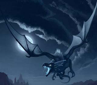 Imagenes de dragones nocturnos