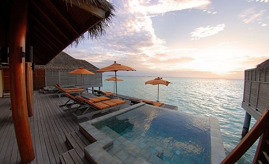 Luxury Dhigu Spa Resorts Design in Dhigu, Maldives