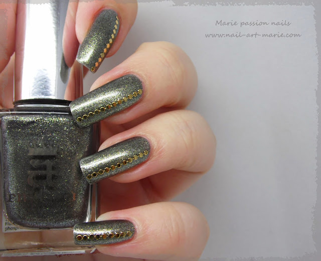 Nail art chic et discret2