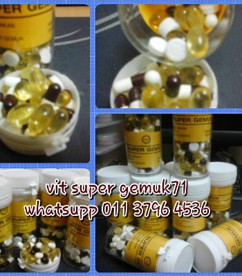 MULTIVITAMIN SUPER GEMUK B COMPLEX WEIGH GAIN