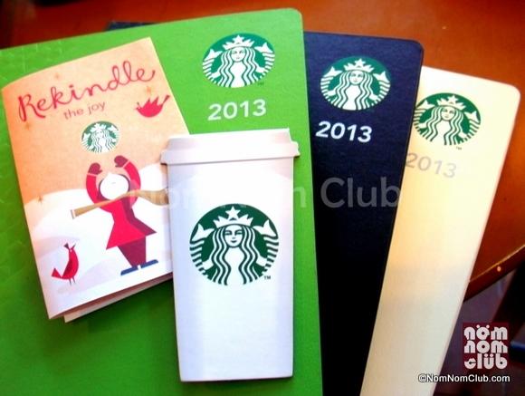 Starbucks Philippines 2013 Planners