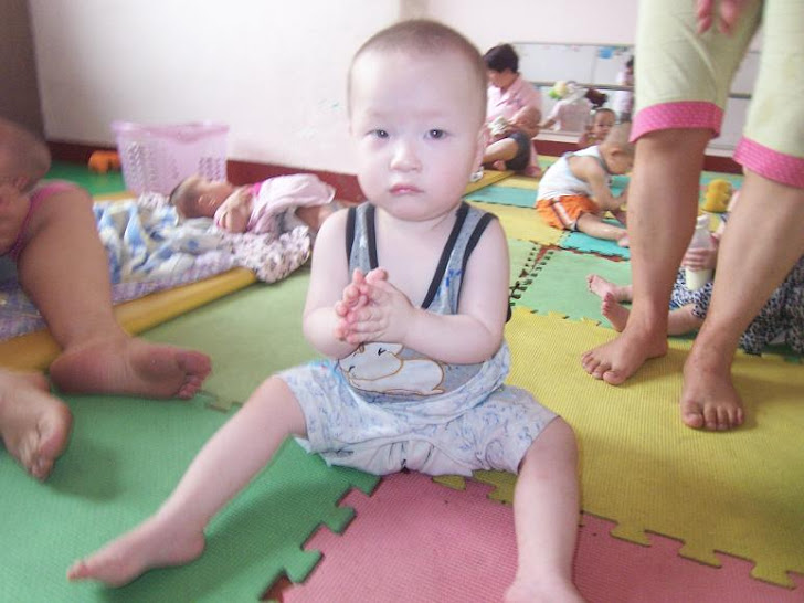 Mia at Xinxiang Orphanage
