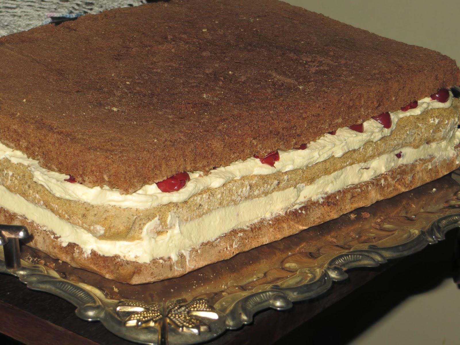 Бисквитный торт на сковороде - рецепт с фотографиями - Patee
