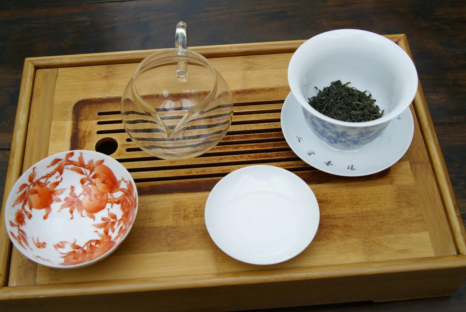 langue de moineau thé coréen