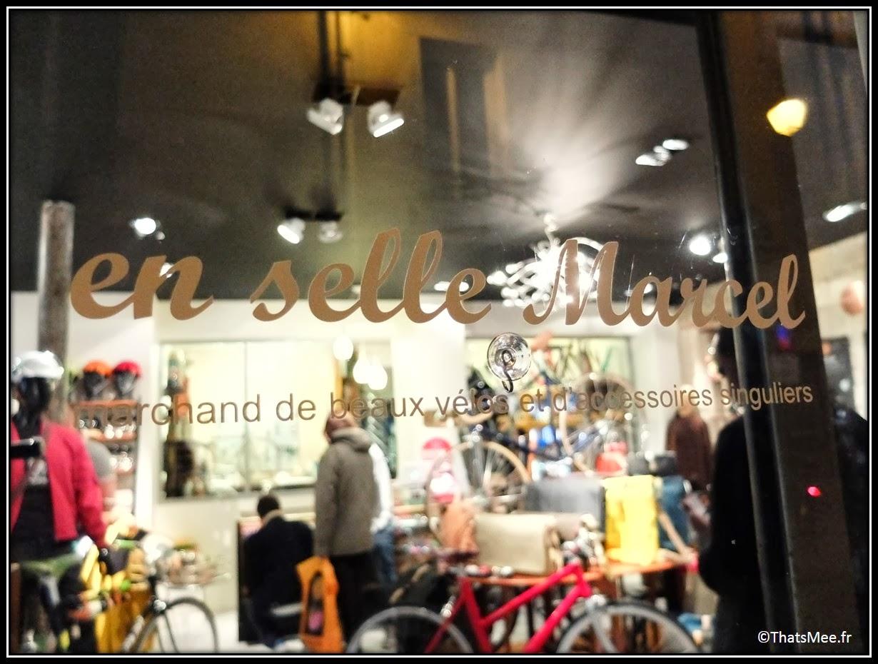 En Selle Marcel Rue Tiquetonne Paris magasin spécialisé vélo fixie