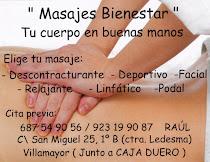 Centro de masajes  en Villamayor