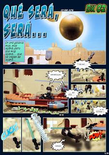 Brickómic 2: Qué será, será... (página 2 de 3)