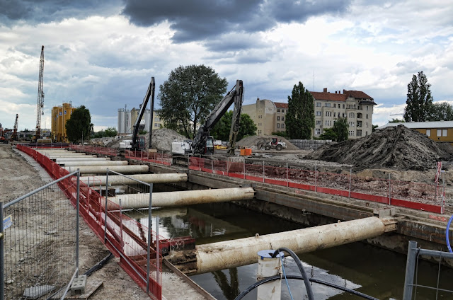 Baustelle Neubau der S-Bahn Verbindung Berlin Hbf - Nordring, S21, Döberitzer Straße 3, 10557 Berlin, 15.06.2013