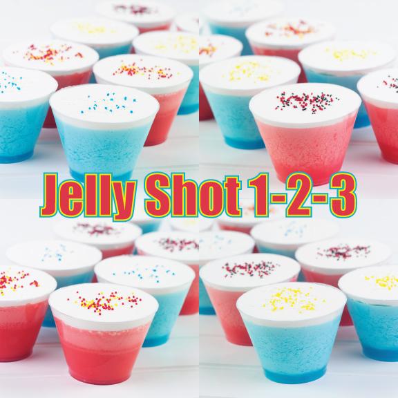 Jelly Shot Recipes | Jelly Shot Test Kitchen: Jelly Shot 1-2-3