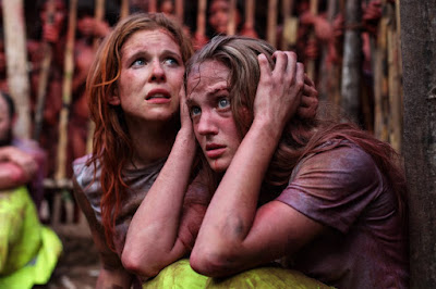 Magda Apanowicz and Kirby Bliss Blanton in The Green Inferno