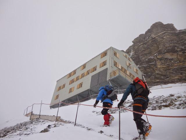 Junfraujoch-Mochshutte-Gross Grunhorn-Konkordiahutte