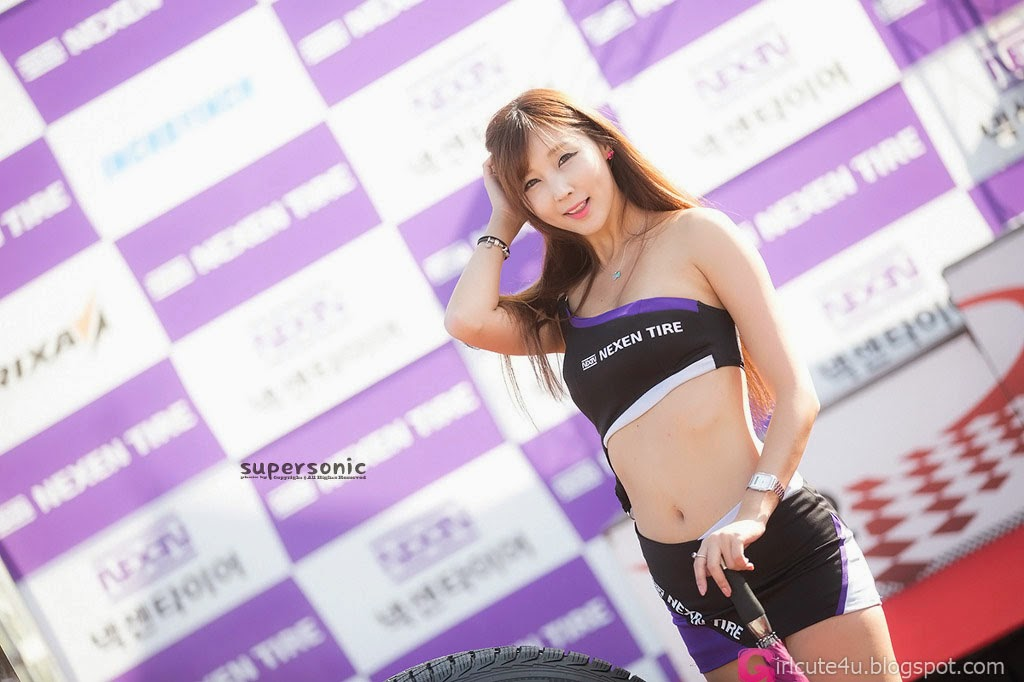 1 Lee Yoo Eun - Nexen Tire Speed Racing, Round 5 - very cute asian girl-girlcute4u.blogspot.com