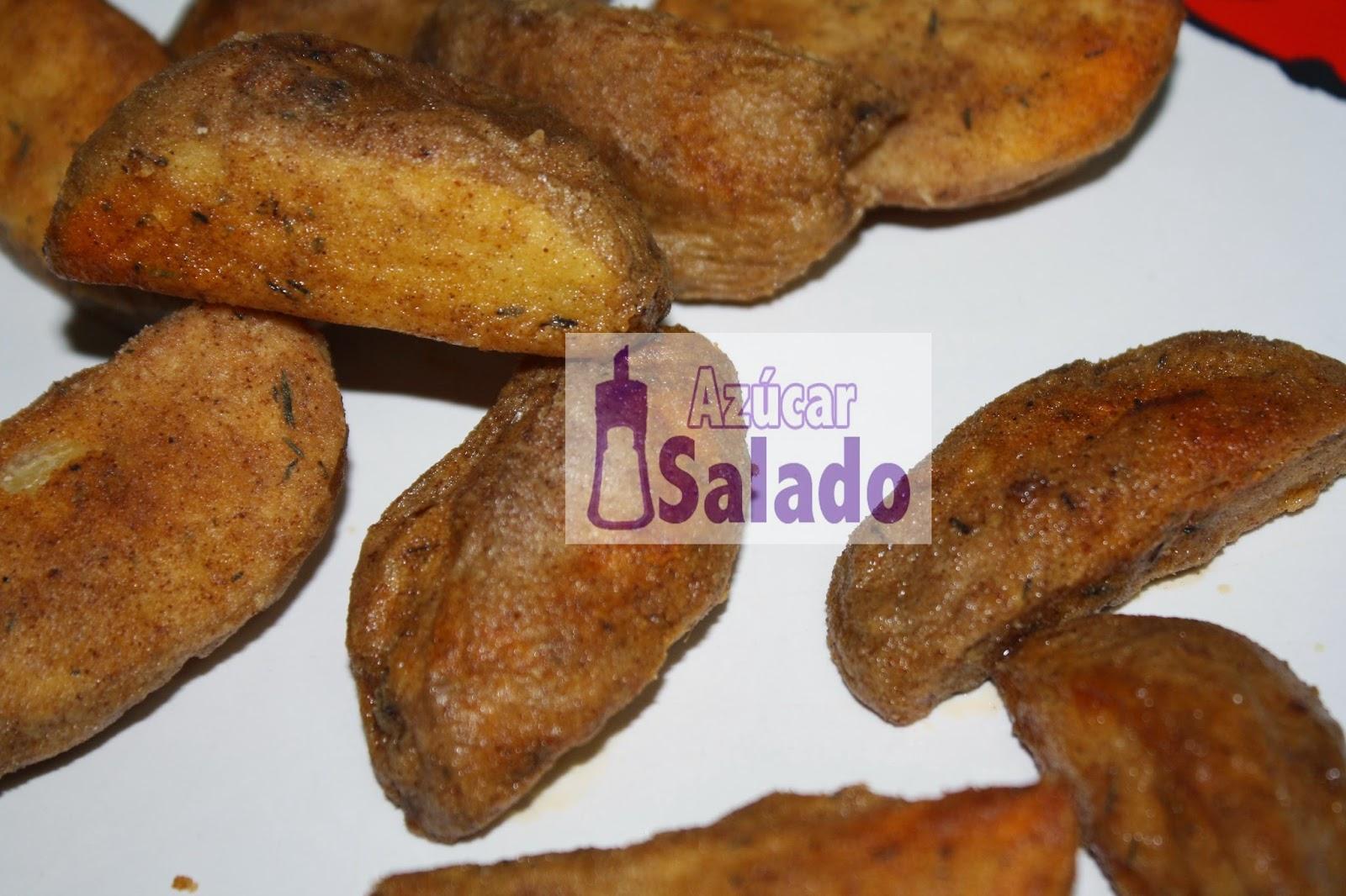 patatas con especies